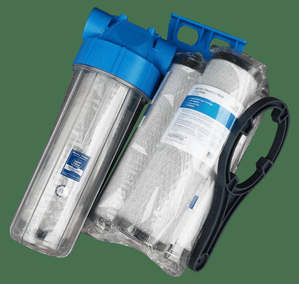 filtr narurowy hydro basic weglowy z wkladami
